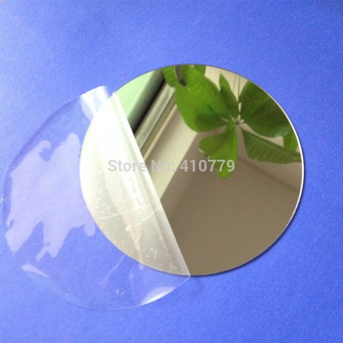 10pcs Diameter 100x1mm Acrylic Wall Mirrors Round Sheet of Sample Plastic PMMA Glass Hotel Decorative Lens