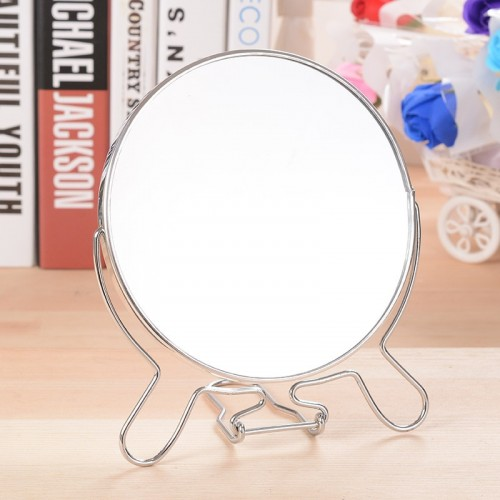 Creative Rotaing Women s table Mirror Double Sided Wedding Mirror Stainless Steel 360 Rotating Makeup Cosmetic