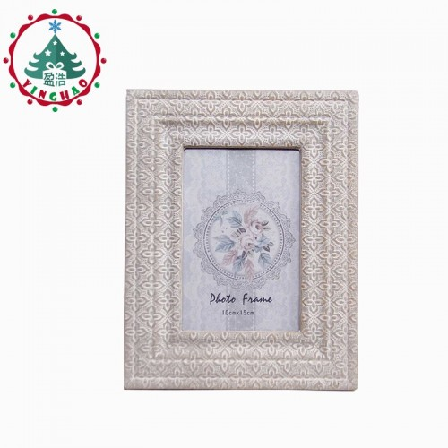 inhoo Decor 6 inch Fashion Vintage Wooden Photo Frame Desktop Picture Frame Album Europe Retro Ornaments
