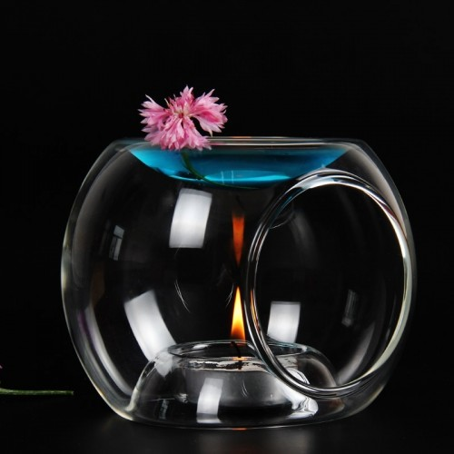 PINNY Glass Oil Burner High Quality Candle Aromatherapy Oil Lamp And Crafts Home Decorations Aroma