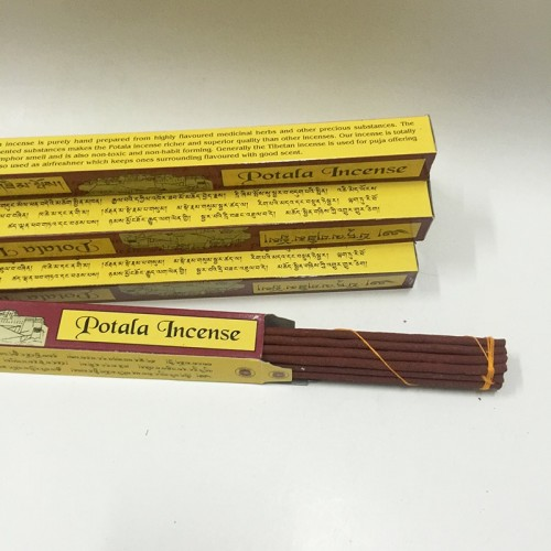Tibetan Purely Handmade From Highly Flavoured Medicinal Herbs With 27cm Length Buddha Supply Hand Making Potala