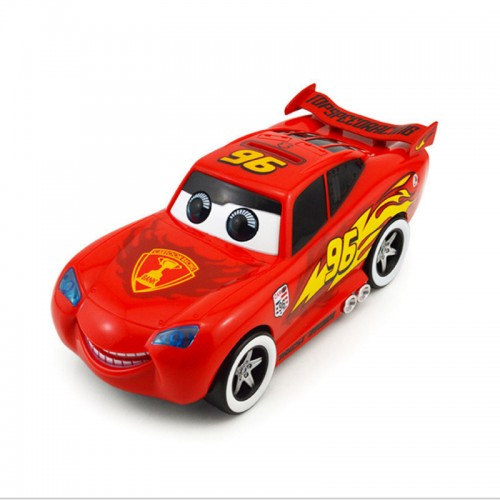 Automated cartoon cute red car toy cars movie moving electronic McQueenes saving money piggy bank box