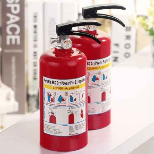 Creative cofre Money Box Fire Extinguisher Piggy Bank for money Plastic Decoration Coins Piggy Bank