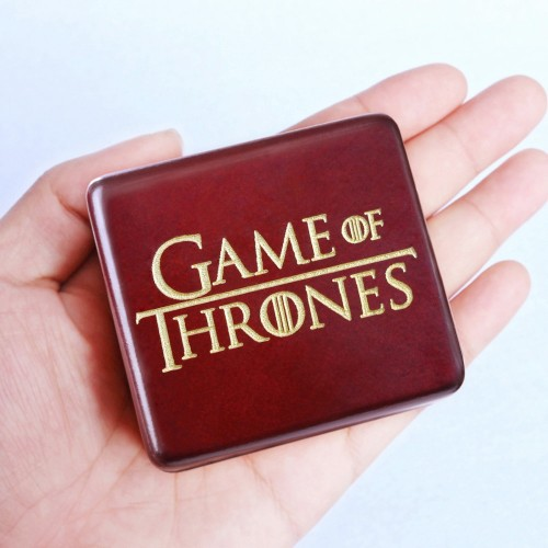Sinzyo Handmade Wooden Game of Thrones Music Box Wood Carved Mechanism Musical Box For Christmas