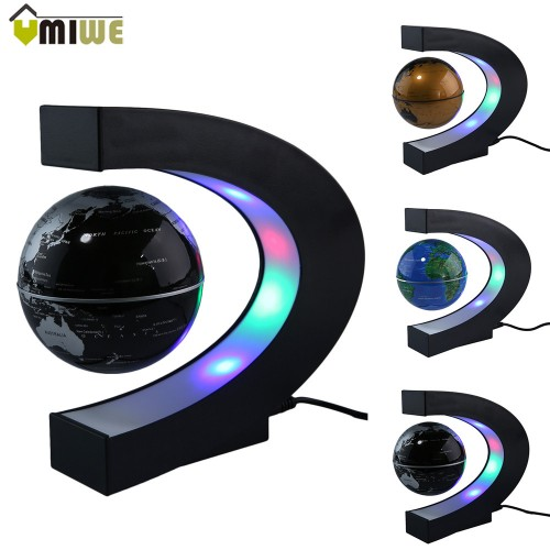 Home Decoration Magnetic Levitation Globe World Map Light