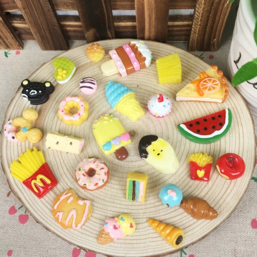 20Pcs DIY Miniature Food Decorative Craft