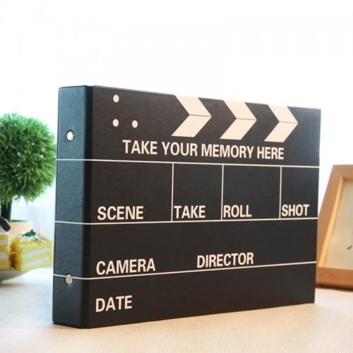 10 inch DIY Photo Album Black Wedding Photos Children Family Lovers Birthday Sticky Type Memory