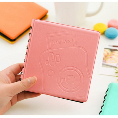 68Pockets Mini Instant Polaroid Photo Album Picture Case for Fujifilm Instax Mini Film 7s 8 25