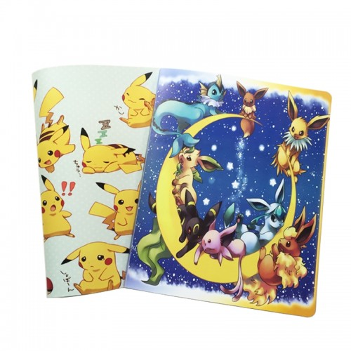 pokemon Album Book Accommodating 324 Cards Photos Stamps Collection List 2 Kinds of Cartoon Cover