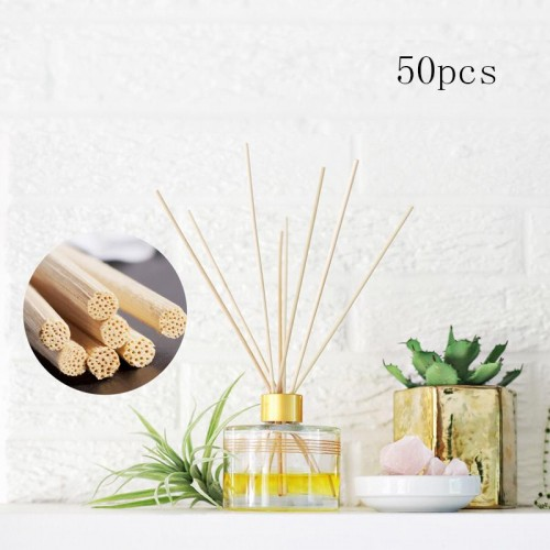 50pcs Oil Diffuser Replacement Rattan Reed Sticks
