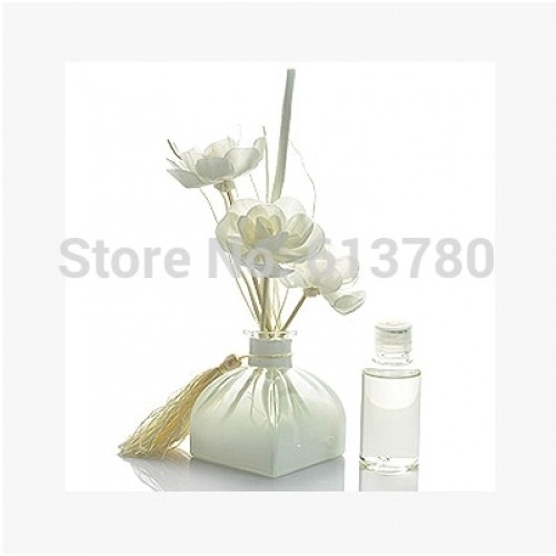 reed wicker rattan aroma diffuser natural home decoration color glass bottle multiple fragrance OEM ODM factory