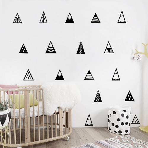 Mountains Wall Sticker Home Decor Kids Bedroom Wall