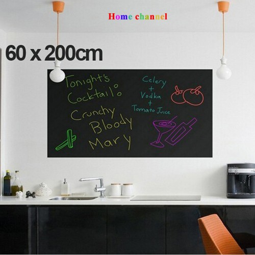 Wall Stickers Blackboard stickers children drawing Chalkboard 60 200CM