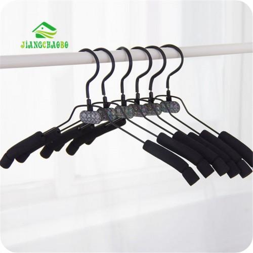 10 PC Lot Free Shipping Coat Hanger Sponge Anti Slip Clothes Hangers Magic Hanger Clothes Rack