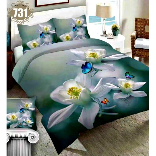 3D Printed Three Piece Bed Sheet Set (24)