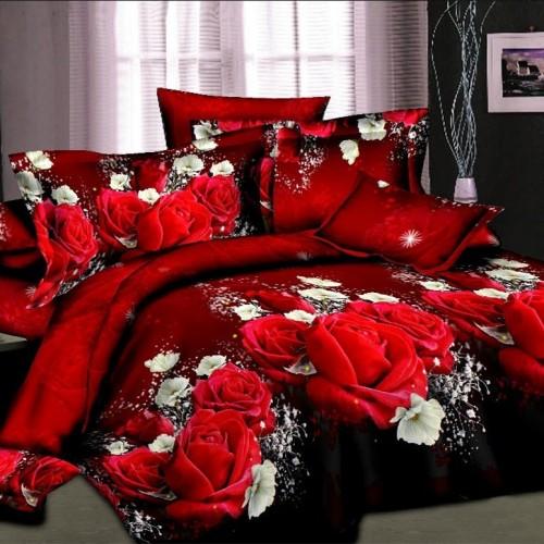 Unihome Luxury 3d bedding set bed sheet sets duvet cover set wholesale cover twin single double