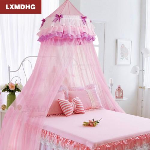 Zanzariera Baby Children Elegant Lace Bed Dome Elegent House Netting Canopy Circular Malla De Round
