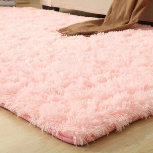 9 Colors Solid Rugs Pink Puple Carpet Thicker Bathroom Non slip Mat Area rug for living