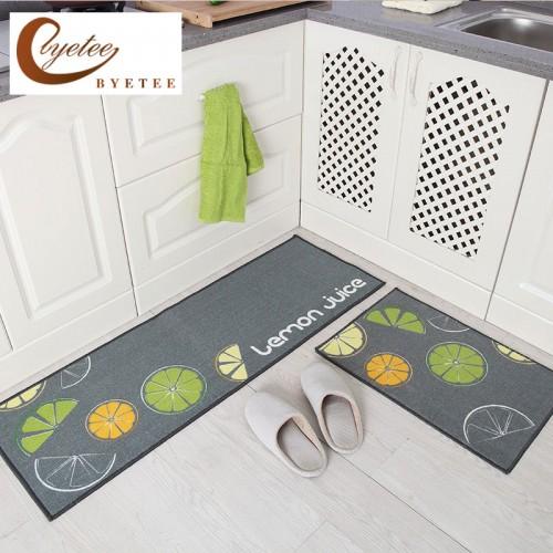 Byetee Kitchen Hot Selling Mats Door Bathroom Carpet Absorbent Slip resistant Doormats Modern Kitchen Mat