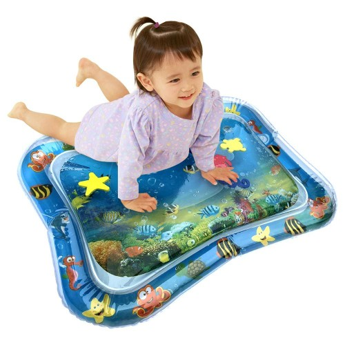 Creative Dual Use Toys Baby Inflatable Patted Pad Baby Inflatable Crawling Water Cushion Water Play Mat