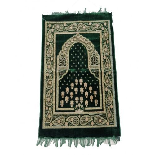Floral Prayer Mat Islamic Travel Prayer Rug For Worship