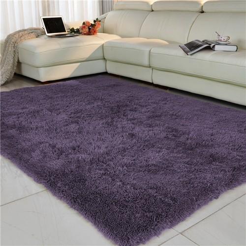 Living room bedroom Rug Antiskid soft 150cm 200 cm carpet modern carpet mat purpule white pink