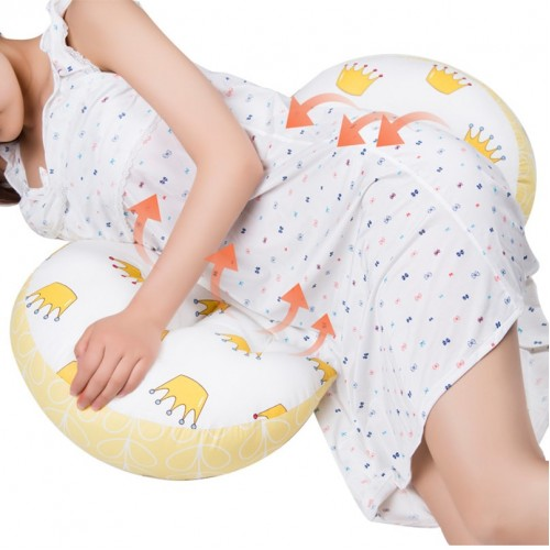 Multi function Pregnant Women Pillow U Type Belly Support Side Sleepers Pillow Pregnancy Pillow Protect Waist