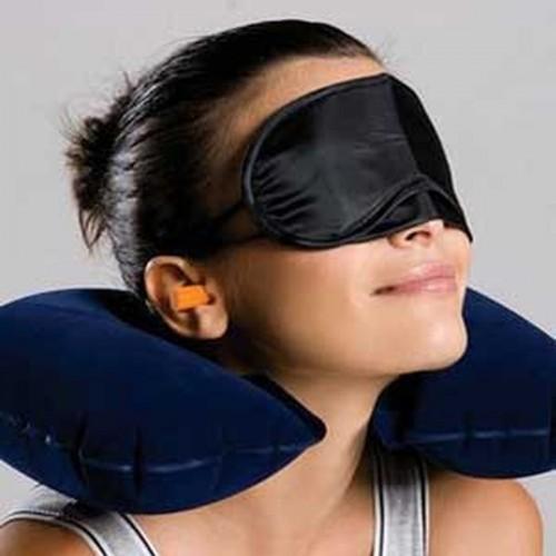 U neck pillow travel pillow Flight Car Pillow Inflatable soft message pillow Neck U Rest Air