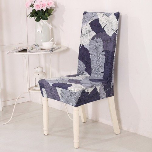 21 Printed Color Spandex Stretch Dining Chair Cover Restaurant For Weddings Banquet Folding Hotel Chair Covering