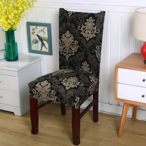 Floral Printing Chair Covers Spandex Elastic Chair Covers Anti dirty Dining Chair Cover Case for Banquet