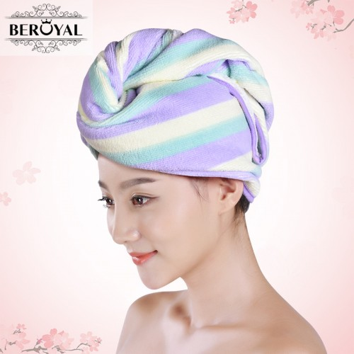 Brand Women Bathroom Super Absorbent Quick drying Microfiber Hair Towel Girls Ladies Hair Dry Cap