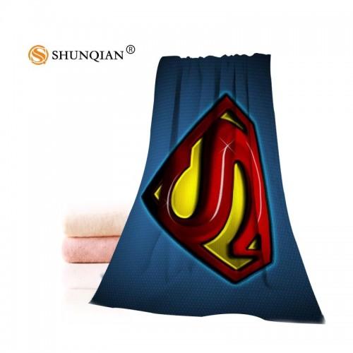 Costume Superman homem logotipo Toalhinha Swimwear touca de Banho Toalha de Praia Toalha de Nata