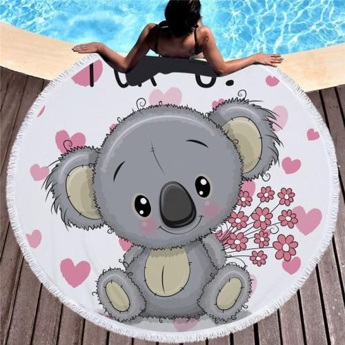 XC USHIO Koala Bonito Amantes de Presente Toalha de Banho Para Crian as Toalha de Praia