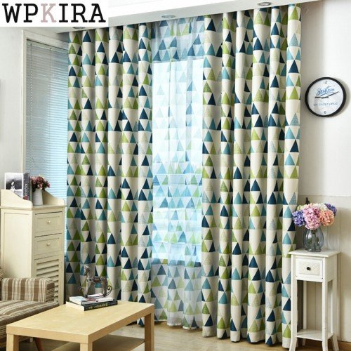 New Arrival Modern Luxury Curtains For Living Room Kitchen Bedroom Window Blackout Kids Sheer Tulle Window