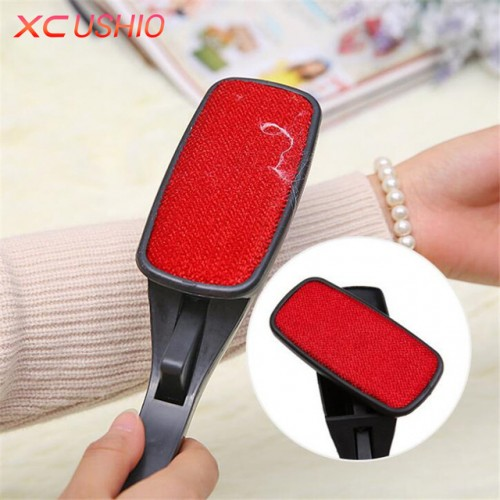 Rotating Magic Lint Dust Brush Pet Hair Remover Clothing Cloth Cleaning Brush Anti static Lint Fluff.