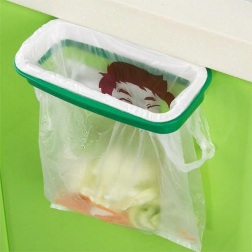 hot Eco Friendly Garbage Bag Stand Litter Bag Holder Kitchen Cupboard Drawer Door Waste Bin.