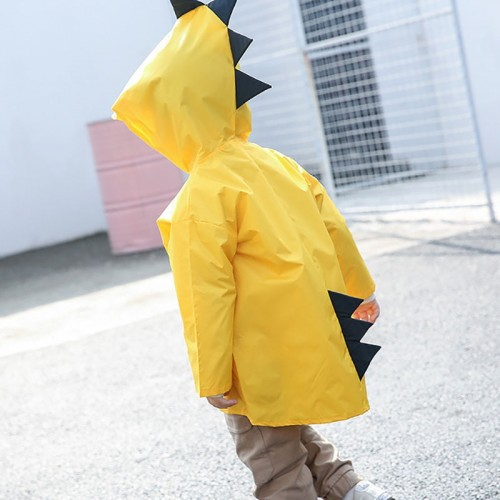Children s baby raincoat kindergarten dinosaur children s large class poncho child children s poncho spring