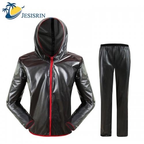 Waterproof Raincoat Suit Outdoor Fishing Fashion Sports Raincoat Unisex Riding Motorcycle Rainwear Suit Adult Rain