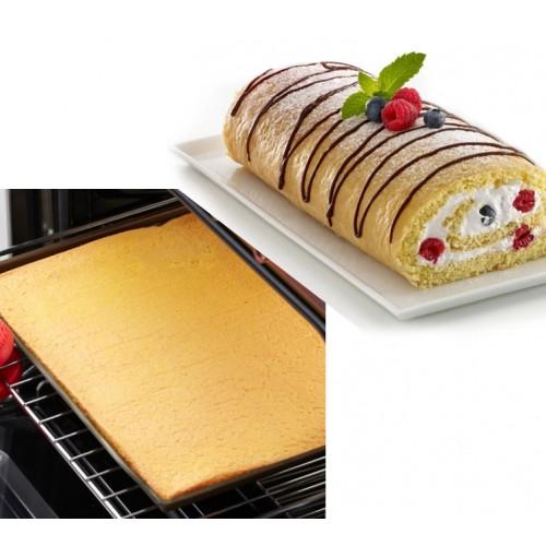 1pc Non stick Silicone Oven Mat Cake Roll Mat Baking Mat Functional Baking Macaron Cake Pad