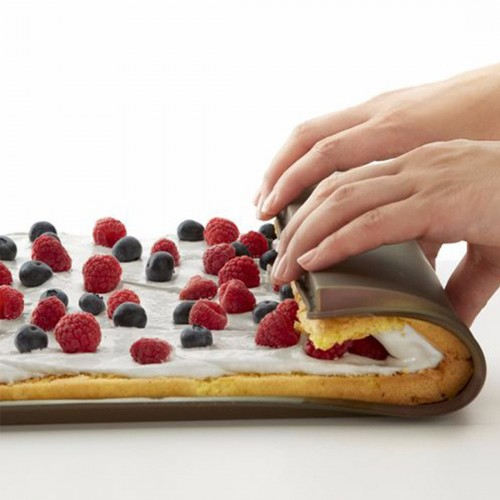 Nonstick baking pastry tools silicone baking rug mat kitchen accessories silicone mold swiss roll mat pad