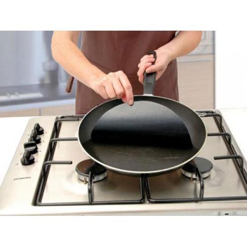 Twin pack Pan Mat 2 Non stick round pan liner sheet
