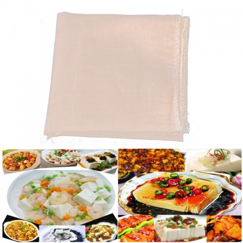 Mayitr 1pc Tofu Cloth Cotton Cheese Cloth DIY Homemade Pressing Tofu Maker Kitchen Tools Gadgets 40x40cm