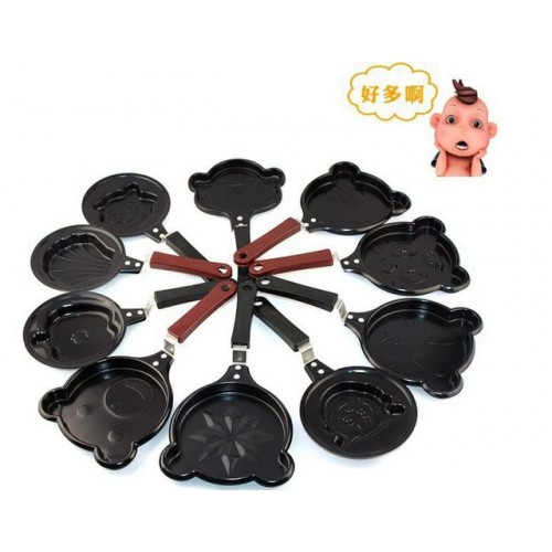 Pancake Breakfast Omelet Pan Fried Egg Cooker Mini Equipment Fry Frying Pan Non stick Pan 13.jpg 640x640