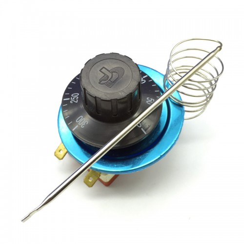 Rotary Temperature Controller Ac220v 16a Dial Thermostat Temperature Control Switch For Electric Oven 50 300 Degrees