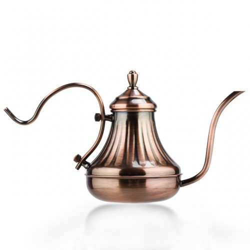 Stainless Steel Coffee Pot Europe Style Hand Royal Court Ketle Long Thin Mouth Coffee Maker 420ML.jpg 640x640