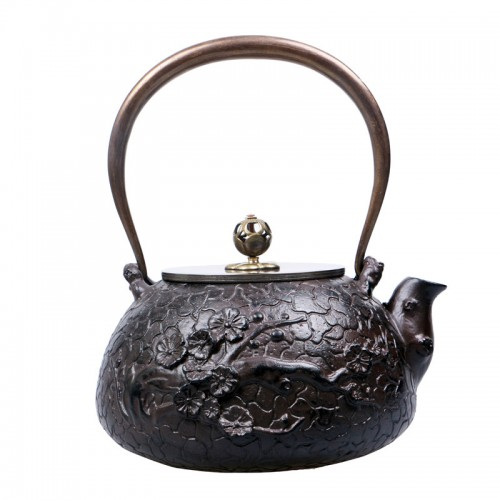Traditional Chinese Style Water Kettles KungFu Tea Pot Cookware Cast Iron Teapot Heathy Cooking Tools Drinkware