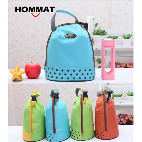 Thermal Insulated Cooler Lunch Bag for Kids Girls School Lunch Boxs Carry Lunch Tote Bag Water