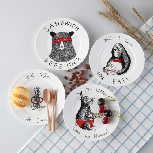 Top Cartoon Animal Bone China Cake Dishes And Plates Porcelain Pastry Fruit Tray Ceramic Tableware For.jpg 640x640