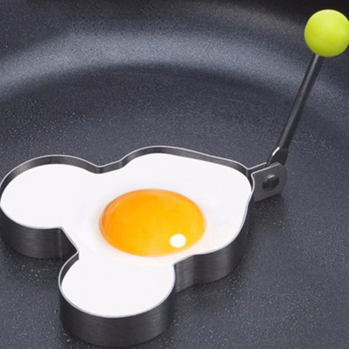 Helpful Stainless Steel Fried Egg Shaper egg Pancake Ring Mould Mold Kitchen Cooking Tools Fried Egg