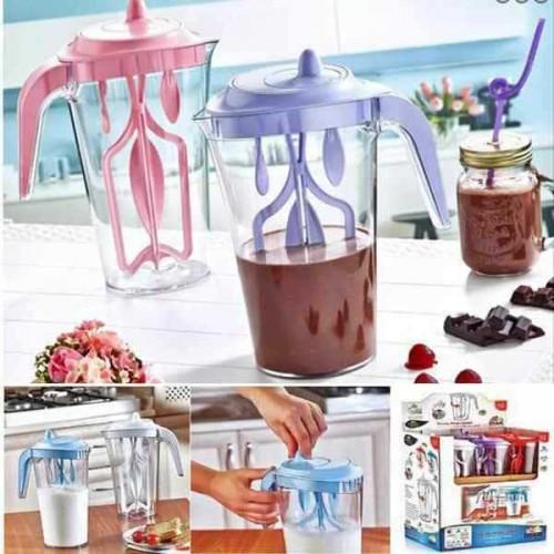 Milk & Coffee Mixer Kitchen Creative Tool Manual Mixing Pot Food Grade Water Cup